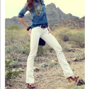 Cabi Style 343L Long White Bootcut Jean